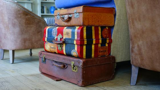 5 Dicas para antes de viajar - malas; bon voyage