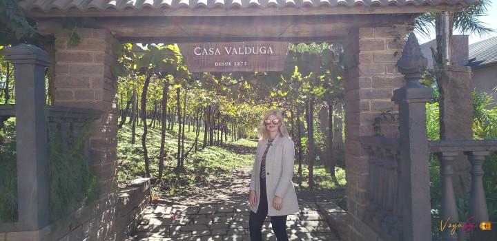 Enoturismo no Brasil. Visitação, degustação e harmonização pelo Complexo Enoturístico Casa Valduga. Vinhos Brasileiros. Vinhos Sul doBrasil.